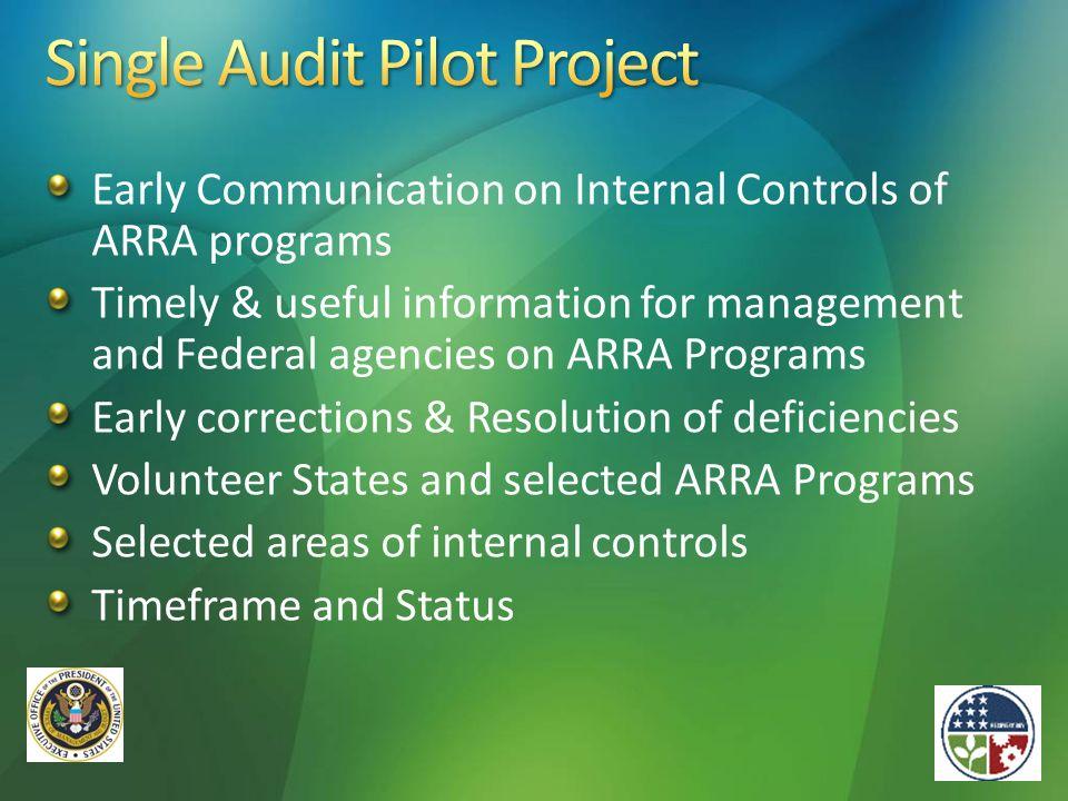 Single Audit Pilot Project