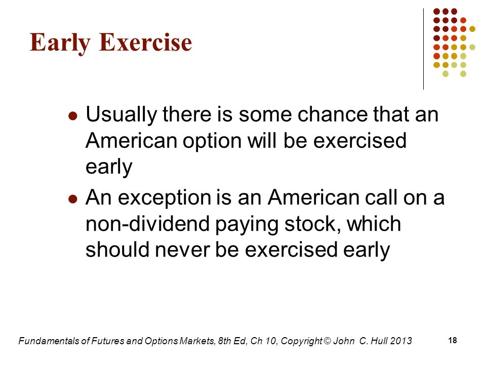 Early exercise vested stock options