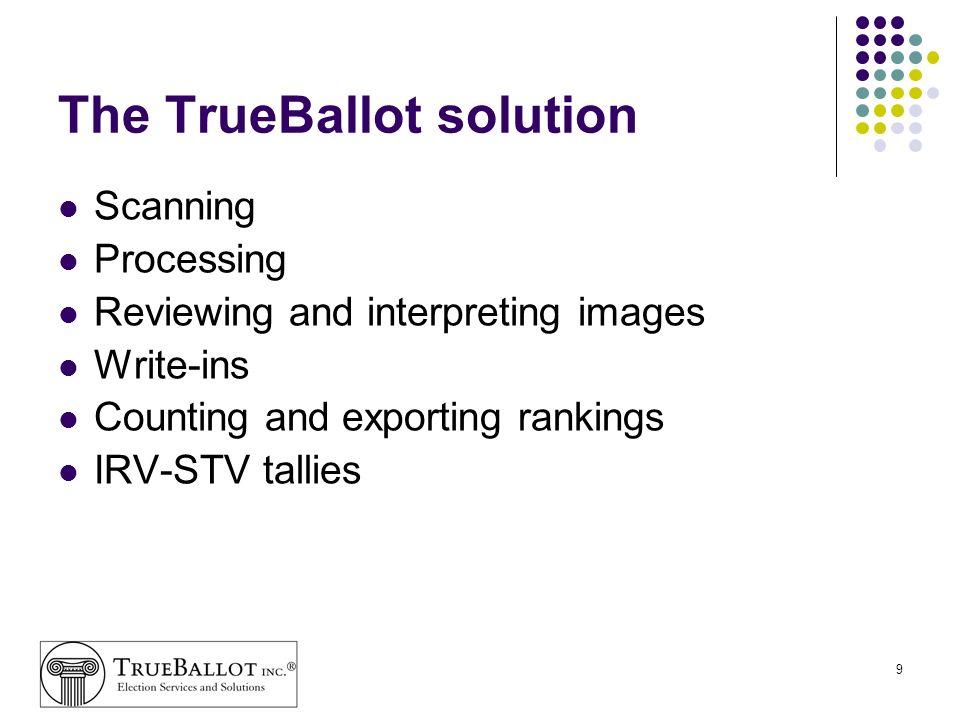 The TrueBallot solution