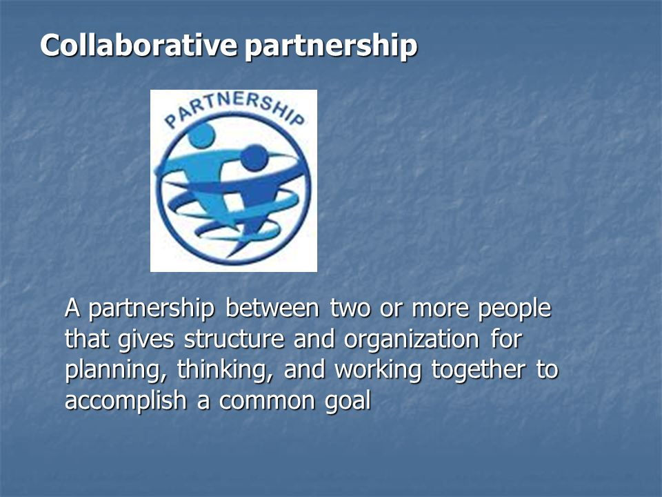Collaborative partnership