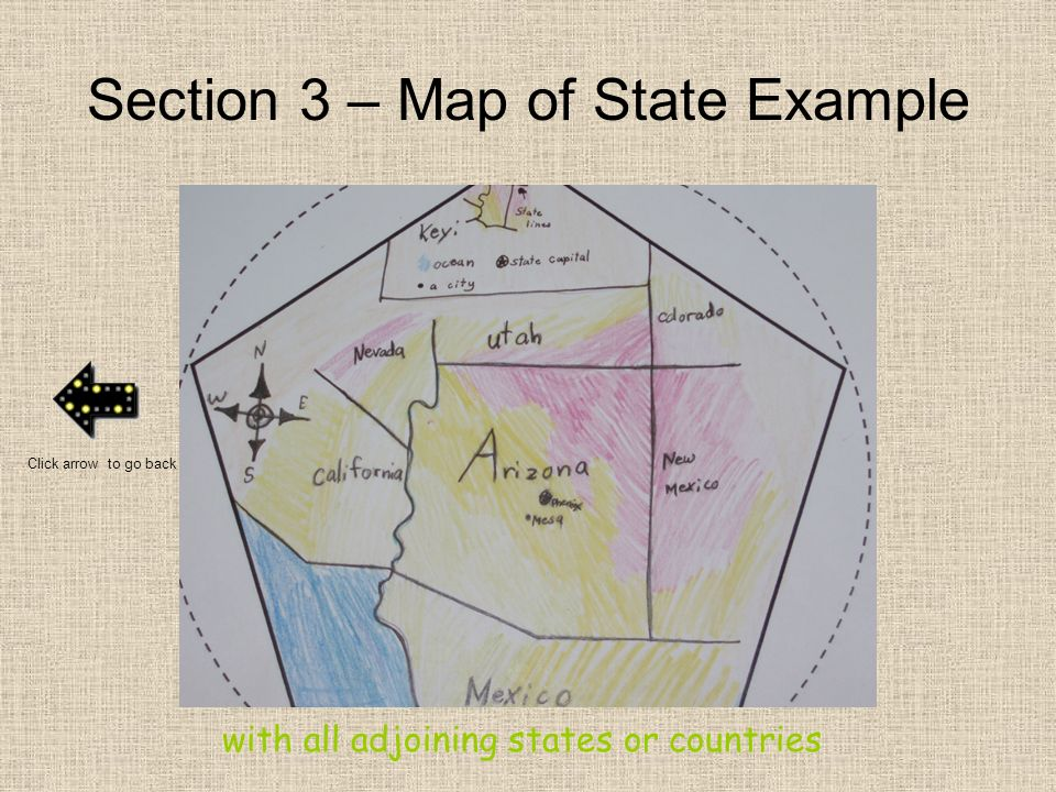 Section 3 – Map of State Example