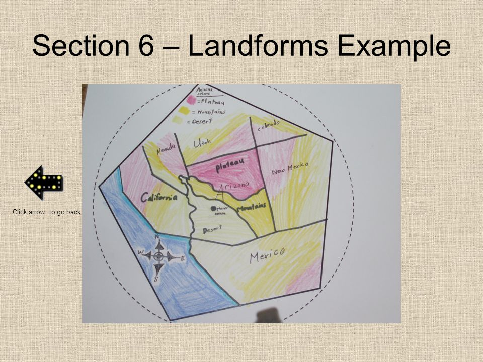 Section 6 – Landforms Example