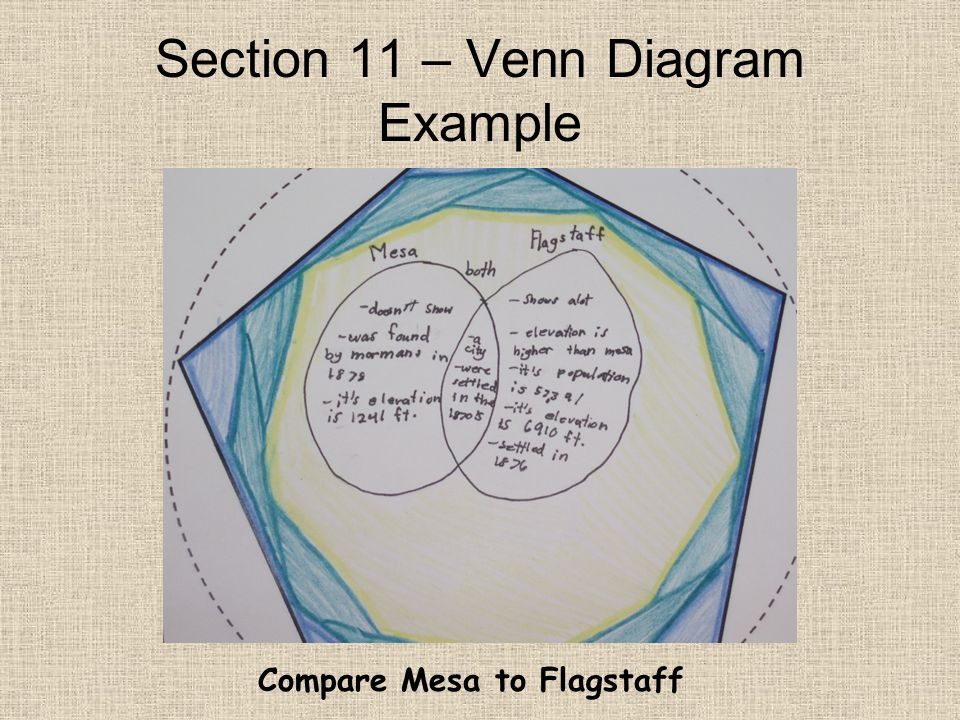 Section 11 – Venn Diagram Example