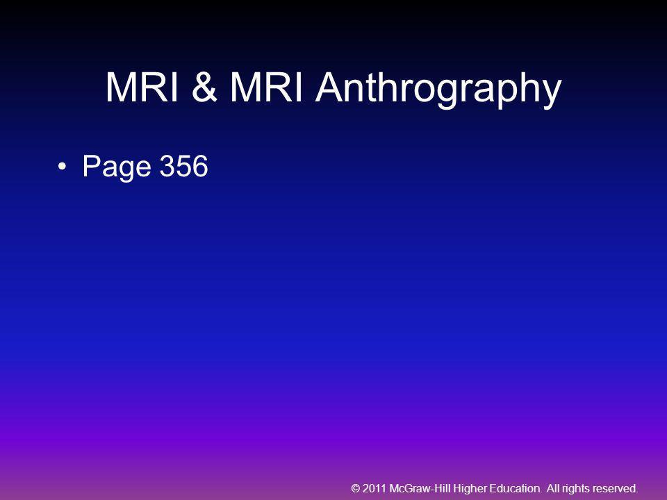 MRI & MRI Anthrography Page 356