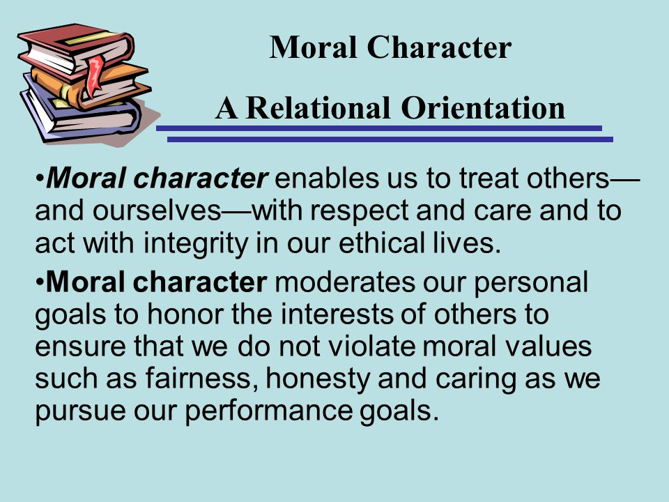 A Relational Orientation