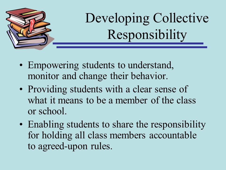 Developing Collective Responsibility