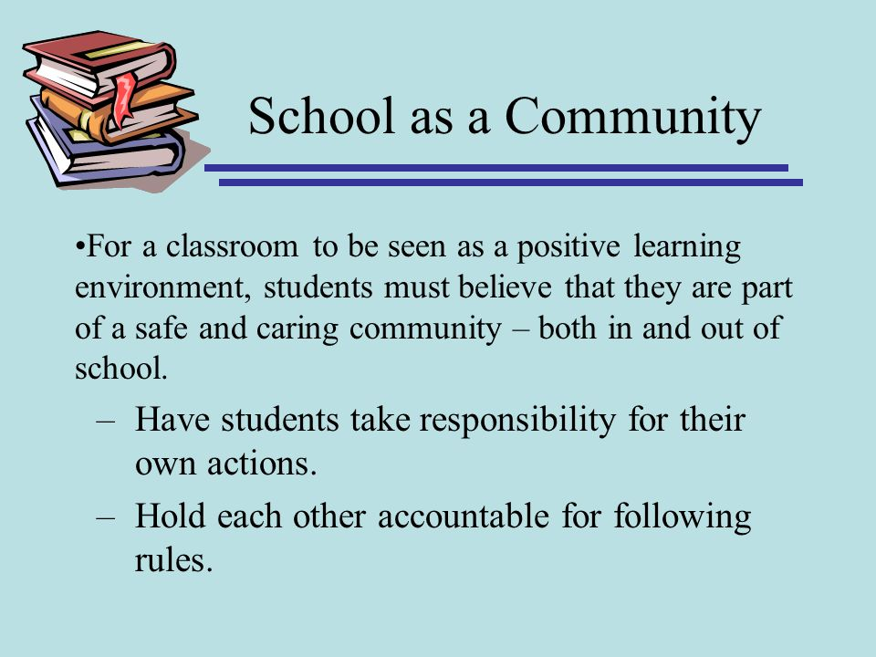 School as a Community