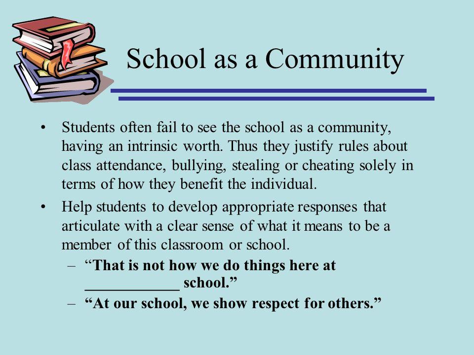 School as a Community