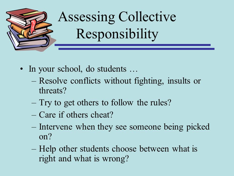 Assessing Collective Responsibility