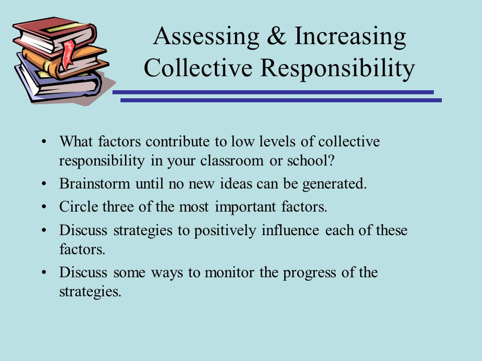 Assessing & Increasing Collective Responsibility