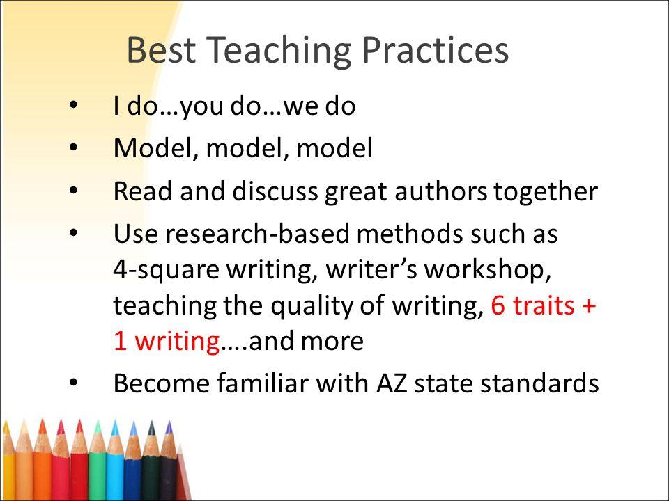 Best Teaching Practices