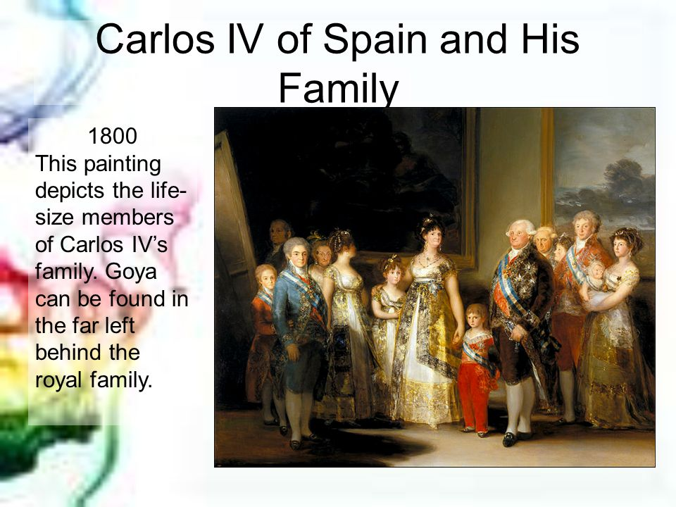 Carlos IV of Spain and His Family