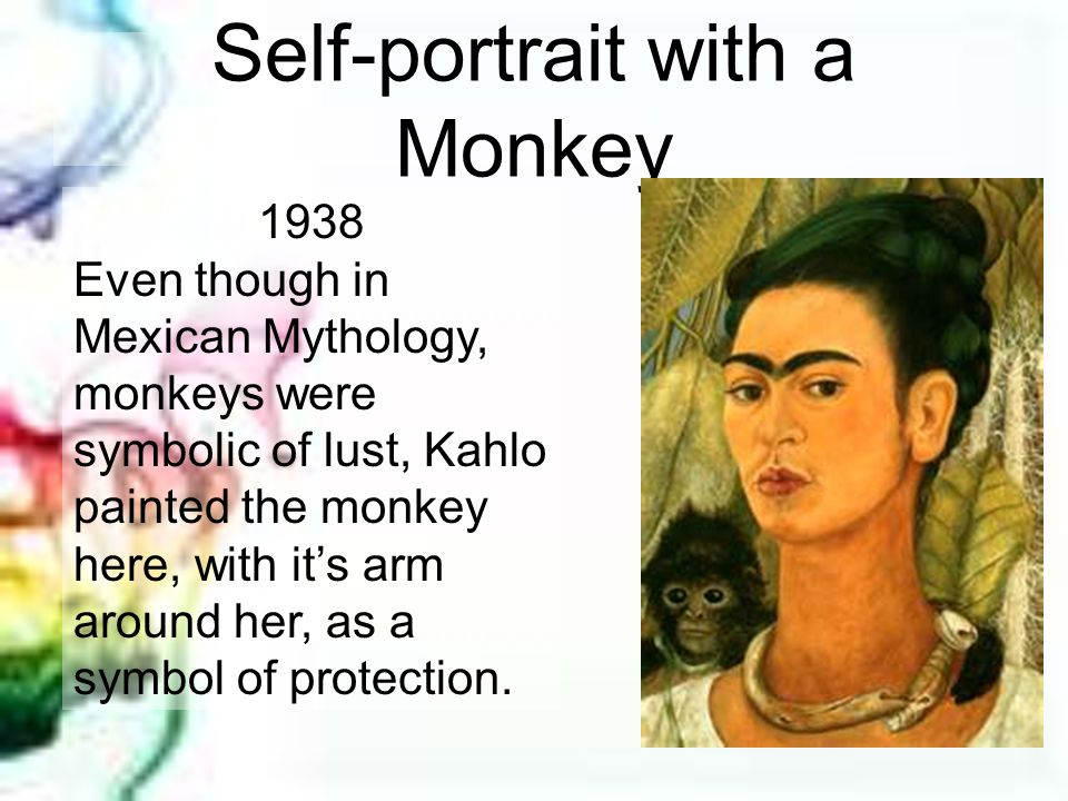 Self-portrait with a Monkey