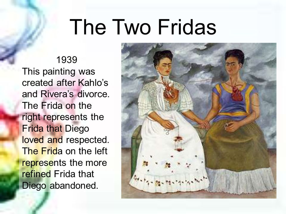 The Two Fridas 1939.