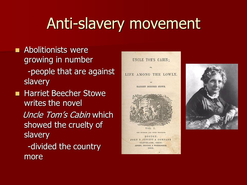 Anti-slavery movement