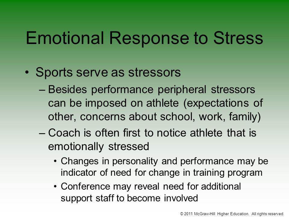 Emotional Response to Stress
