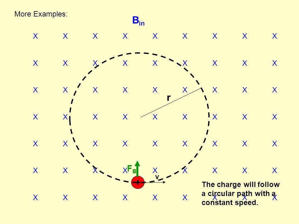 Bin r + FB More Examples: X X X X X X X X X v