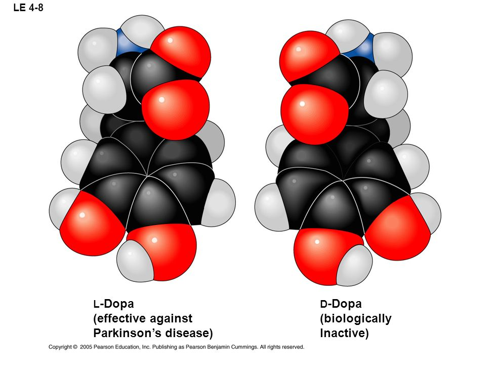 (effective against Parkinson's disease) (biologically Inactive) L-Dopa