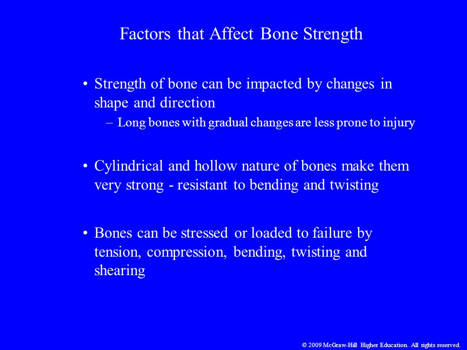 Factors that Affect Bone Strength