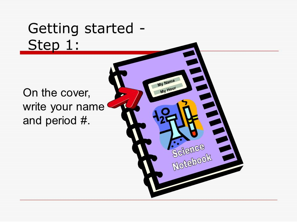 Getting started - Step 1: