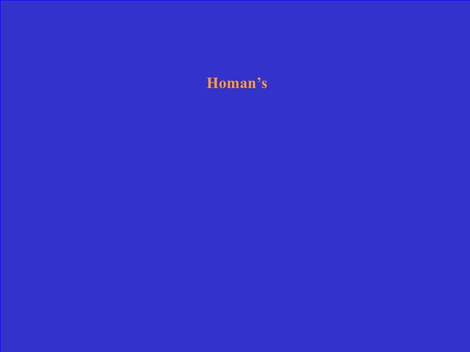 Homan's