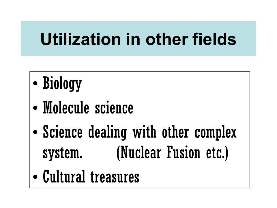 Utilization in other fields