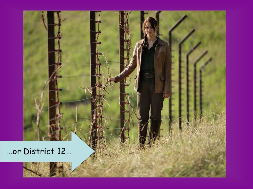 …or District 12…