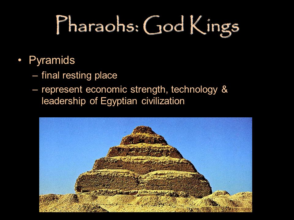 Pharaohs: God Kings Pyramids final resting place