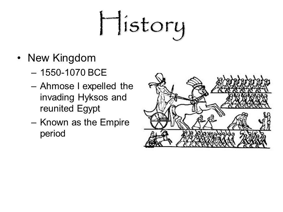 History New Kingdom 1550-1070 BCE