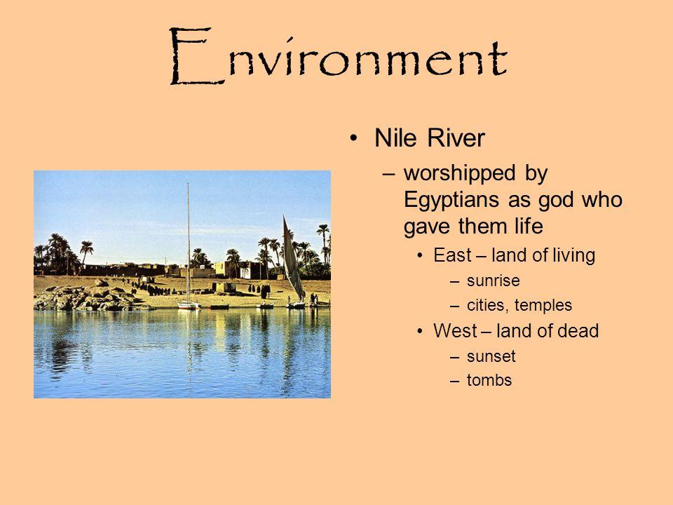 Environment Nile River
