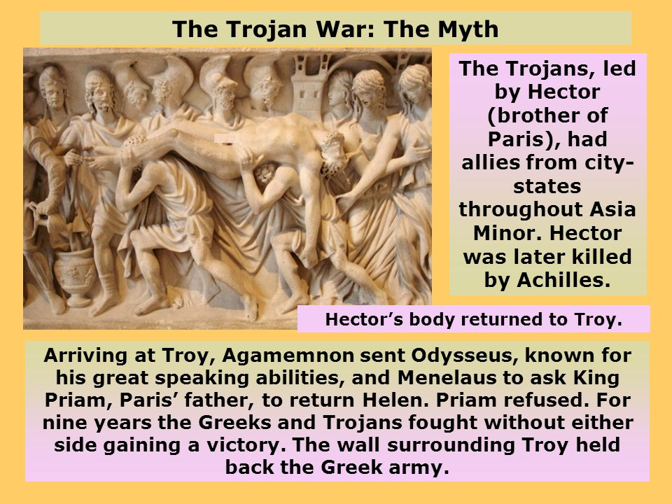 The Trojan War: The Myth