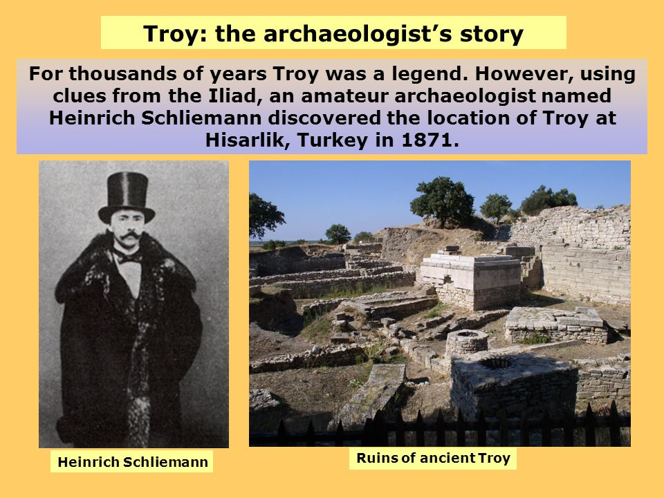 Troy: the archaeologist's story