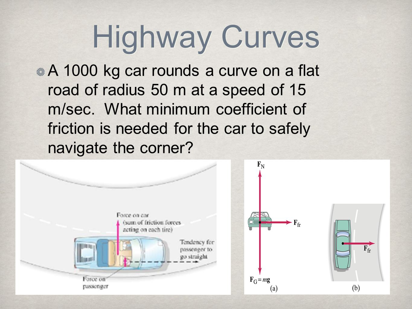 Highway Curves