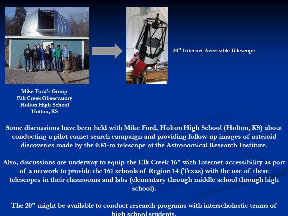 20 Internet-Accessible Telescope