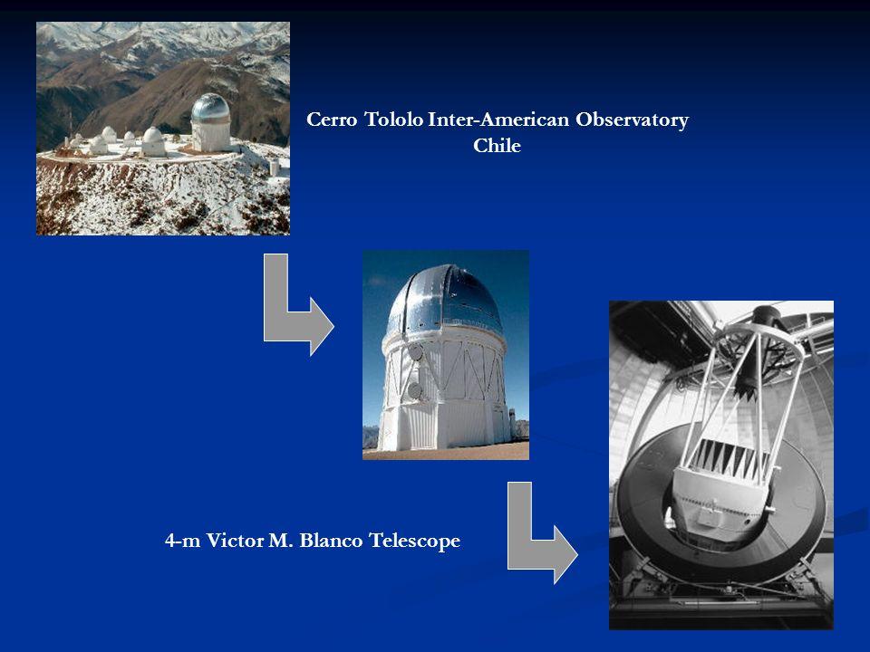 Cerro Tololo Inter-American Observatory 4-m Victor M. Blanco Telescope