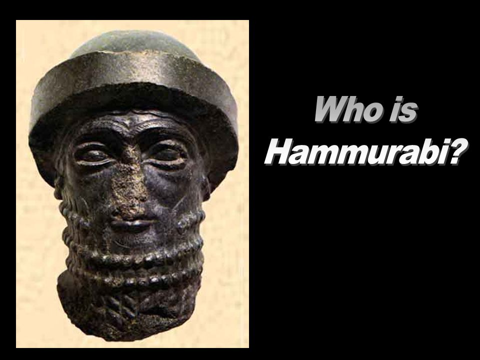 Who is Hammurabi