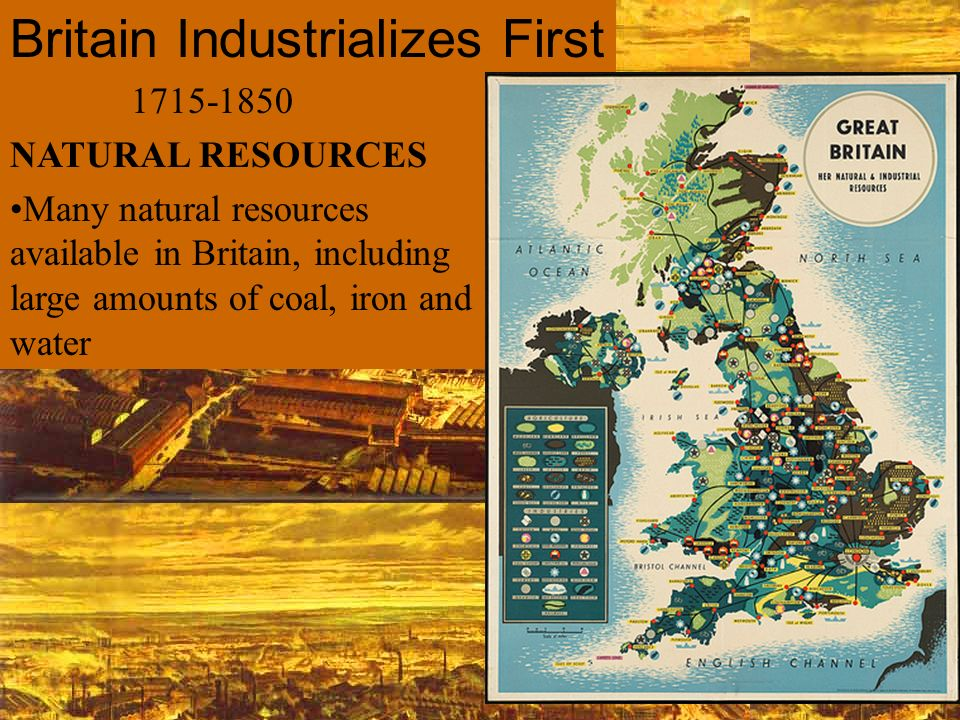Britain Industrializes First