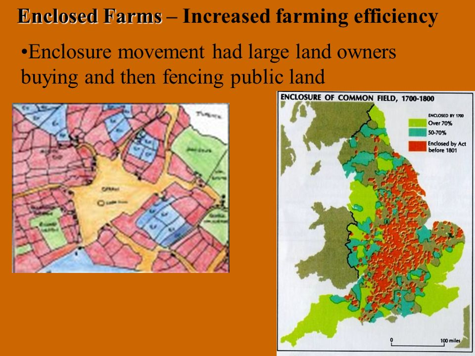 Enclosed Farms – Increased farming efficiency