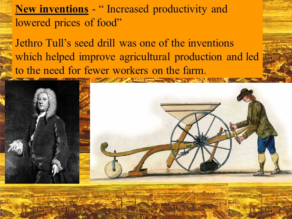 New inventions - Increased productivity and lowered prices of food