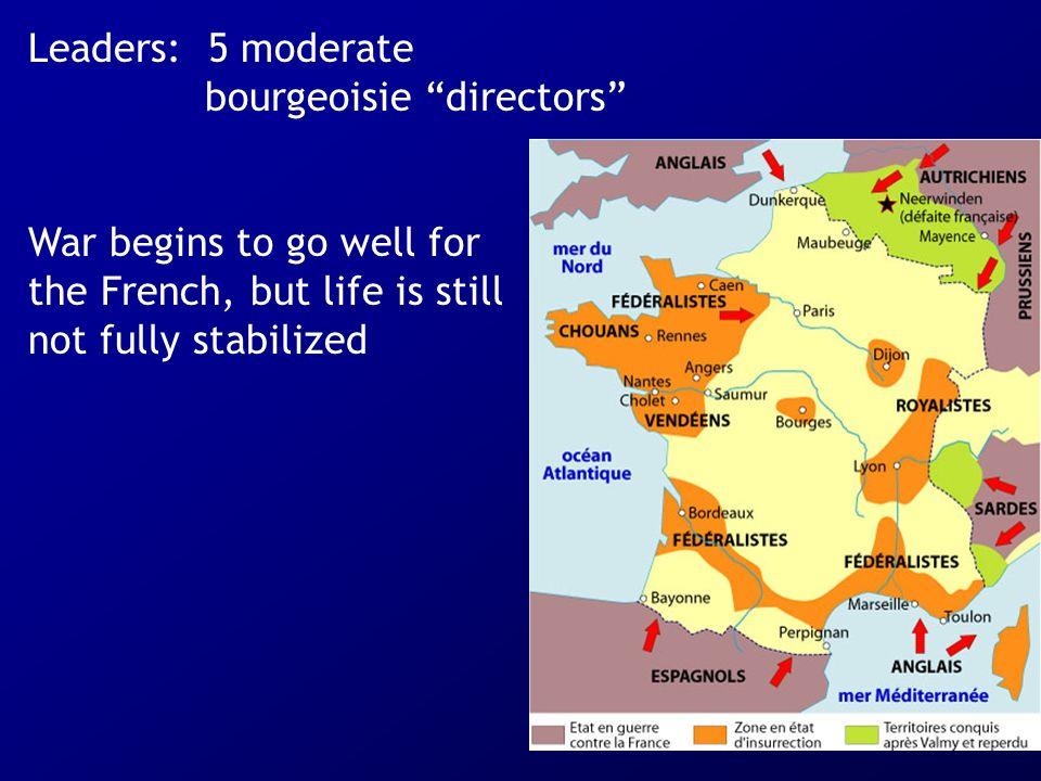 Leaders: 5 moderate bourgeoisie directors