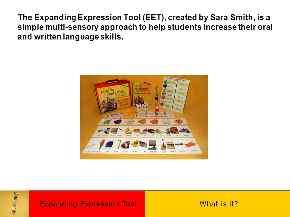 Expanding Expression Tool.