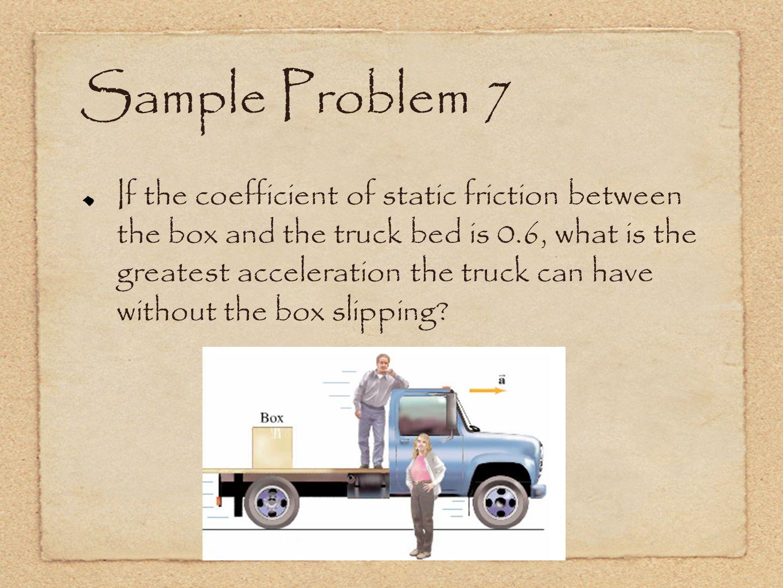 Sample Problem 7