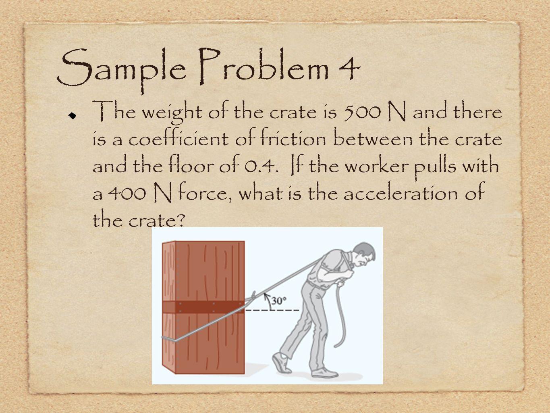 Sample Problem 4