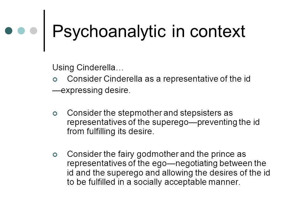 Psychoanalytic in context