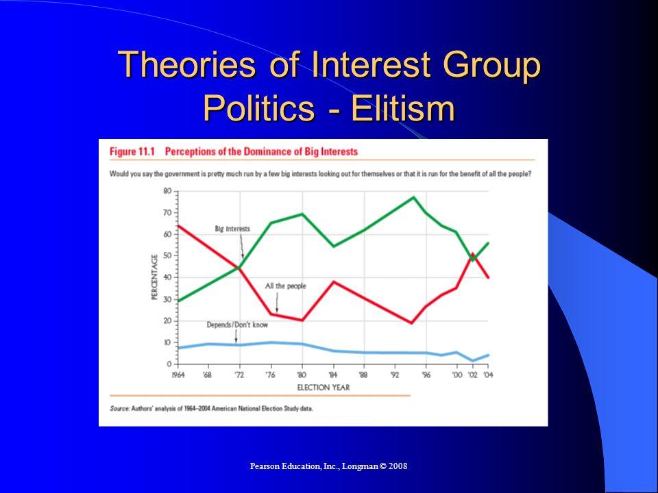 Theories of Interest Group Politics - Elitism