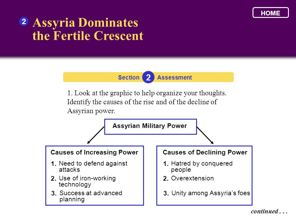 Assyrian Military Power Causes of Increasing Power