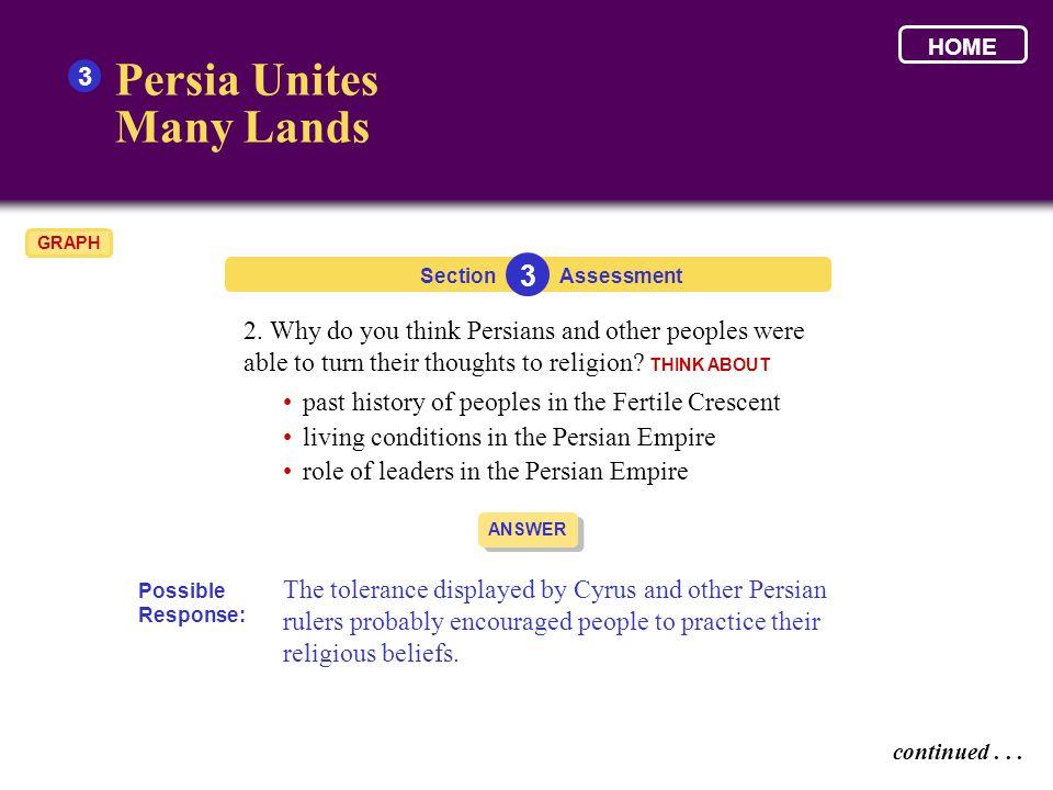 Persia Unites Many Lands 3 3