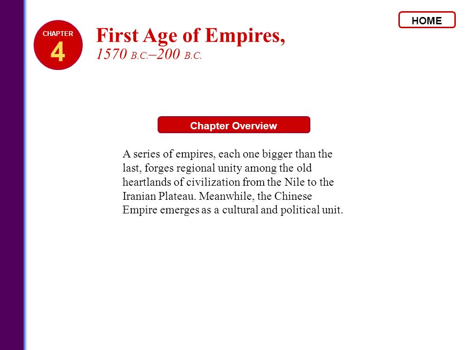 4 First Age of Empires, 1570 B.C.–200 B.C.