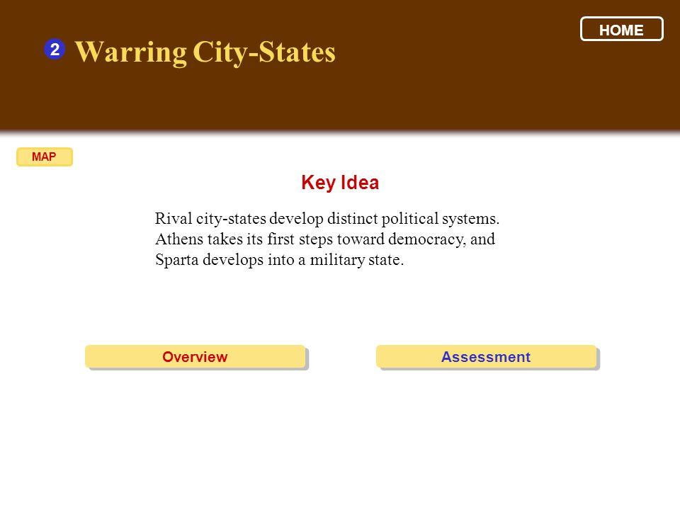 Warring City-States Key Idea 2