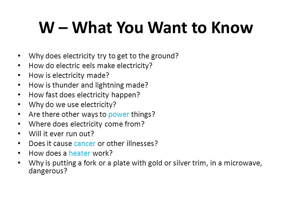 Fancy What To Know About Electricity Component - Electrical and ...